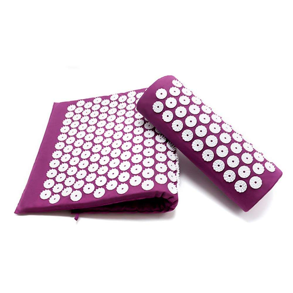 Yoga Cushion Acupressure Massage Mat Pain Relief Therapy Muscle | SPO-45132