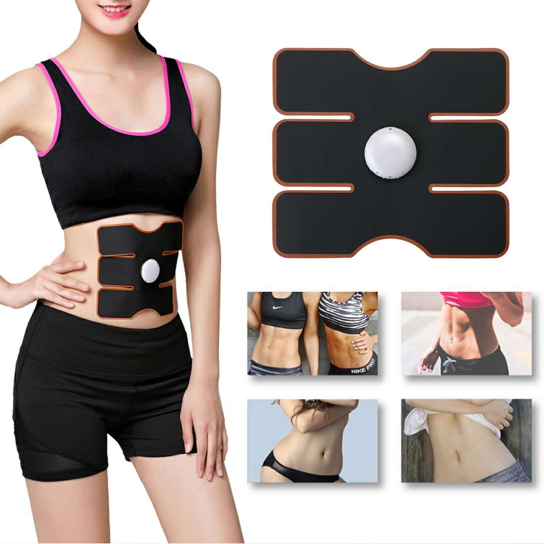 EMS Abdomen Muscle Stimulator Fitness Lifting Trainer Weight Loss | HOM-30025